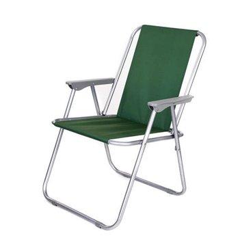 Kempování - Plážové křesílko zelené