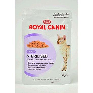 Mazlíčci - Royal canin Kom.  Feline Sterilised kaps ve šťávě 85g