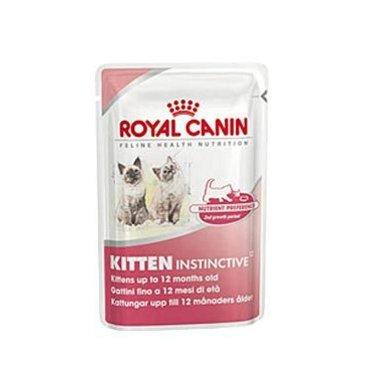 Mazlíčci - Royal canin Kom.  Feline Kitten Inst kaps ve šťávě 85g