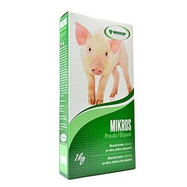 Mazlíčci - Mikros Prasata plv 1kg krabička