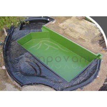 Zahrada - Jezírková fólie 0,5 mm-černá- Šíře 2,4,6,8 m atd. délka dle přání