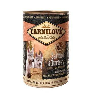 Mazlíčci - Carnilove Wild Meat Salmon & Turkey for Puppies 400g