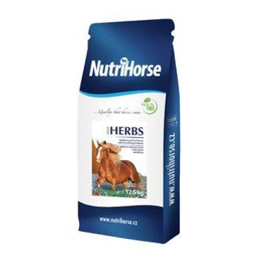 Mazlíčci - Nutri Horse Müsli HERBS pro koně 12,5kg NEW