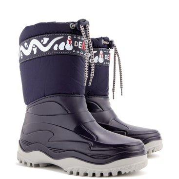 Obuv a oblečení - DEMAR - Dětská zimní obuv FROST 0376 modrá