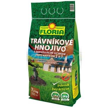 Zahrada - Trávníkové hnojivo s odpuzujícím účinkem proti krtkům 2,5 kg