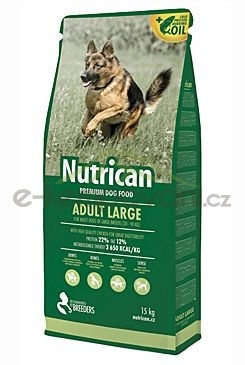 NutriCan Adult Large 15kg | Canvit s.r.o. krmivo - E-kempovani.cz