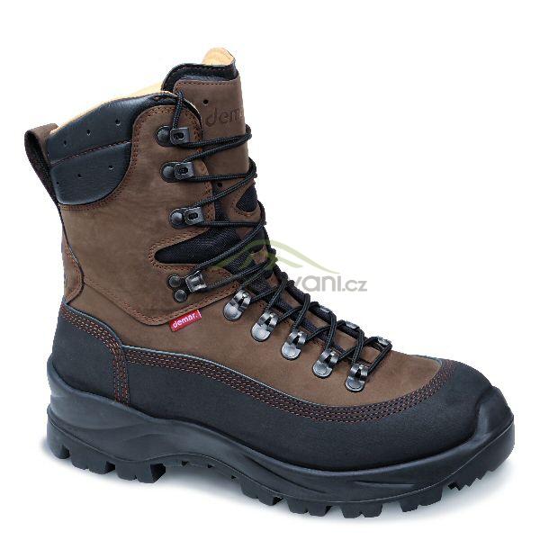 Obuv a oblečení - DEMAR - Treková myslivecká obuv ALPY GTX 6462 hnědá a943201faf