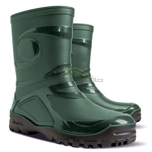 Obuv a oblečení - DEMAR - Dámské nízké holinky YOUNG 2 0460 B zelené c9c877e76e4