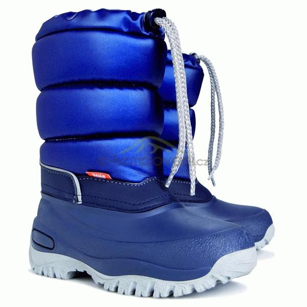 0ce9eb7ea3f Obuv a oblečení - DEMAR - Dětské zimní sněhule LUCKY 1354 modrá