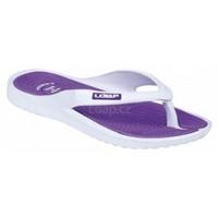 Loap dámské sandály DUBLIN bílo-fialové