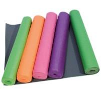 YOGA MAT protiskluz. povrch,včetně tašky,fialová ks