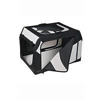 Přepravka Vario nylon M-L 91x58x61cm černo-šedá 1ks TR