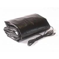 Krycí LD-PE tkaná plachta na bazén kruh 4,6m - fólie 5,2m