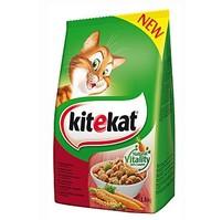 Kitekat Dry hovězí se zeleninou 1,8kg