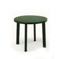 Stůl kulatý TONDO modrý