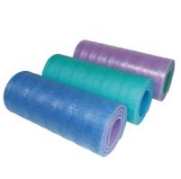 Karimatka dvouvrstvá 10 SOFT FOAM modrá,zelená,růžová