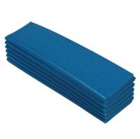 Karimatka jednovrstvá 8 skládací 12D  modrá  B-66
