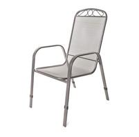 HAPPY GREEN Ocelová zahradní židle