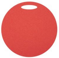 Sedátko kulaté 1 vrstvé, průměr 350 mm - červené