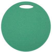 Sedátko kulaté 2 vrstvé, průměr 350 mm, zelená/černá
