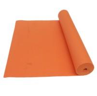 YOGA MAT protiskluz,vč. tašky, oranžová - ušpiněno ks