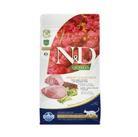 N&D GF Quinoa CAT Weight Mngmnt Lamb & Broccoli 1,5kg