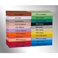 Prodloužené froté prostěradlo 180x220cm, Barva 022 tmavě fialová
