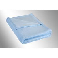 Micro deka jednolůžko 150x200cm sv.modrá 300g/m2