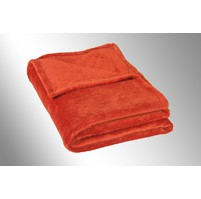 Micro deka jednolůžko 150x200cm cihlová 300g/m2