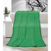 Deka micro jednolůžko 150x200cm zelená