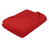 Deka micro dvojlůžko 200x230cm červená