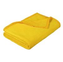Deka micro dvojlůžko 200x230cm žlutá