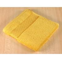 Froté ručník 50x100cm proužek 450g žlutá