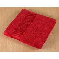 Froté osuška 70x140cm proužek 450g červená