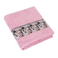 Froté ručník 50x100cm 550g růžová/KAMENY