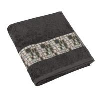 Froté ručník 50x100cm 550g šedá/KAMENY