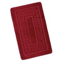 Koupelnová předložka 60x100cm Bolzáno červené