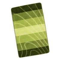 Koupelnová předložka Elli 60x100cm Vlna zelená