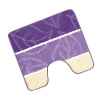 Předložka před WC 60x50cm List fialový