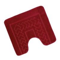 Předložka před WC 60x50cm Bolzáno červené