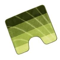 Předložka Elli před WC 60x50cm vlna zelená