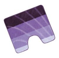 Předložka Elli před WC 60x50cm vlna fialová