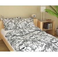 Povlak bavlna 45x60cm Kašmír bílý, Výběr zapínání: nitěný knoflík