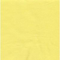 Prostěradlo bavlněné jednolůžkové 140x230cm sytě žluté