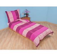 Přehoz přes postel jednolůžkový Duha fialová, Výběr rozměru: 140x220cm