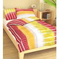 Přehoz přes postel jednolůžkový Nora růžovožlutá, Výběr rozměru: 140x220cm