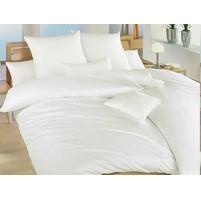 Povlak krep UNI 45x60cm Bílý, Výběr zapínání: hotelový uzávěr