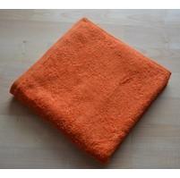 Froté ručník 50x100cm bez proužku 450g oranžový
