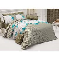 Přehoz přes postel jednolůžkový Tanya modrá, Výběr rozměru: 140x220cm