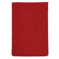 Froté žínka 17x25 červená